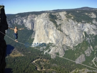 Amazing Tightrope Walk