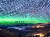 NORTHERN LIGHTS STAR TRAILS