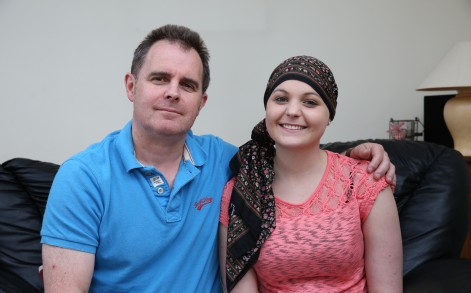 Diagnosed: She was then rushed to hospital where she was diagnosed with leukemia