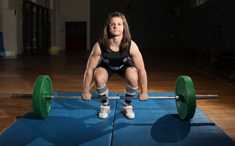 """Rebekah said: """"I competed in and won my first weightlifting contest when I was 12, I even beat the boys."""""""