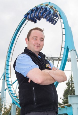 John Copper is a professional theme parks ride tester, raking in £20,000