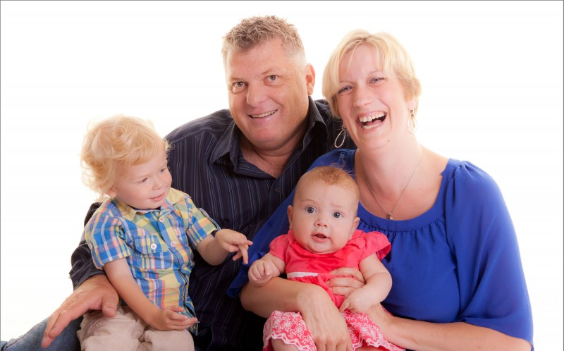 Nicola Reeves first noticed a lump in her breast when little Eleanor was just 11 weeks old