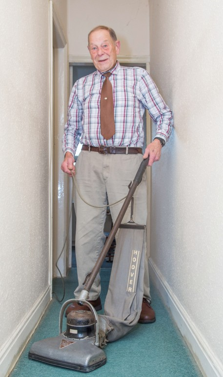 Bill Whitwam inherited the 1929 Hoover Senior from his parents in the 1950s