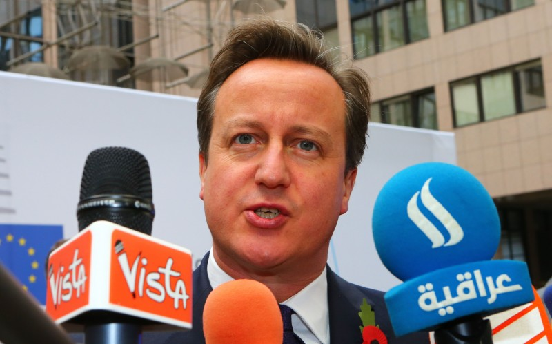 Mr Cameron is demanding to hold emergency talks with EU officials in Brussels