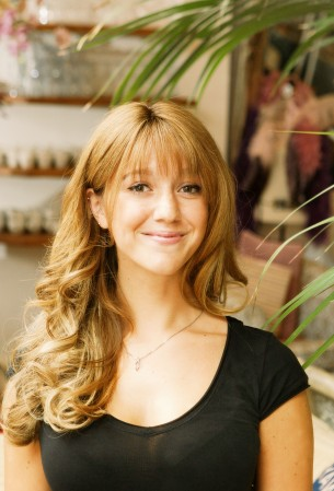 The hair she always dreamed of: Phoebe Ottomar suffered from trichotillomia and spent years tugging at her hair.