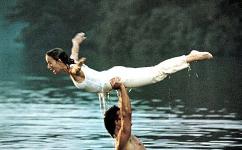 The real version of the graceful lift executed by Patrick Swayze