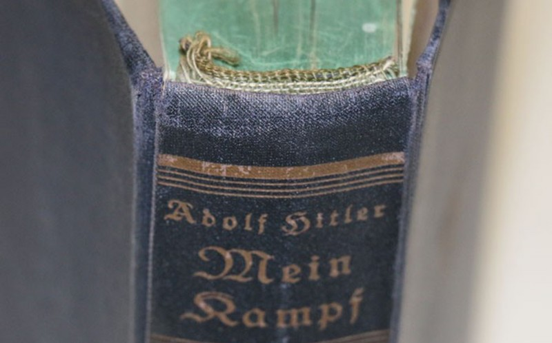 The book was discovered in his Munich apartment in 1945