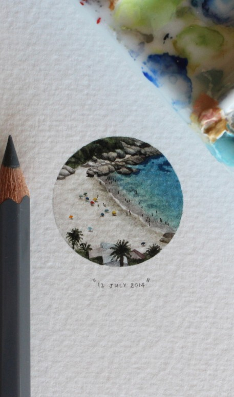 365 Postcards For Ants Project includes everything from stunning scenery to celebrities