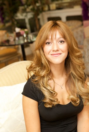 Phoebe said: 'I went to therapy and tried hypnosis but nothing worked. It was when my mum noticed me pulling at my hair that we realised I had trichotillomania.