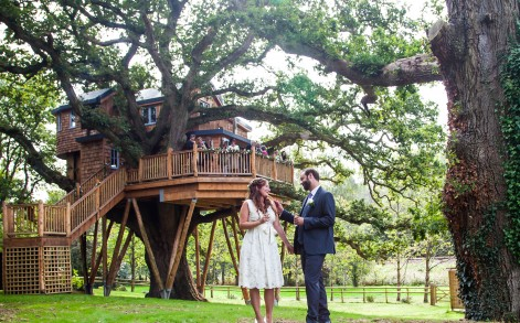 The couple say it would be their dream to live in a treehouse in the jungle among the monkeys.