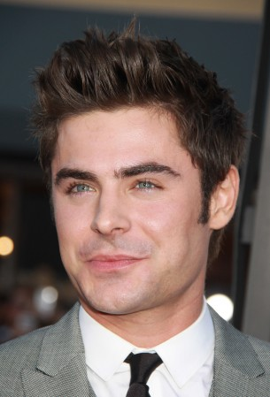Zac Efron palys the role of head frat boy in the comedy film