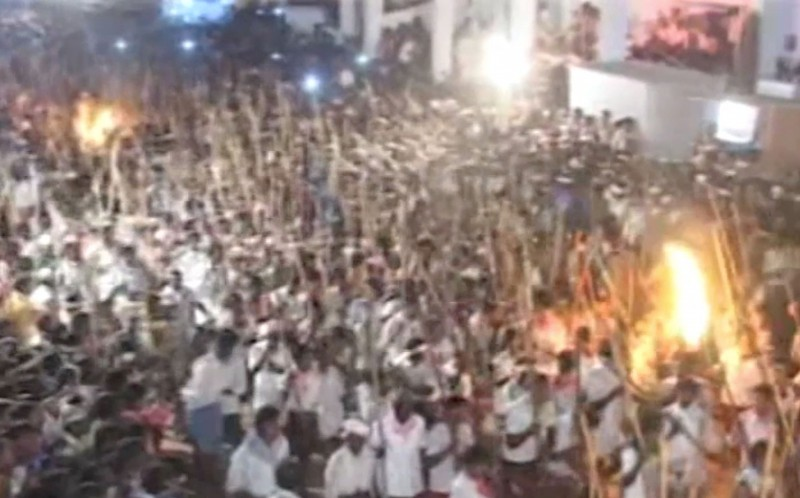 The deadly riot took place on the Karnataka-Andhra Pradesh border in India