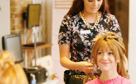 Seeking help: Phoebe visited Lucinda Ellery, who used the Intralace System on her. While it is not a cure for hair pulling, it acts as a barrier and reminds the individual to not pull their hair.