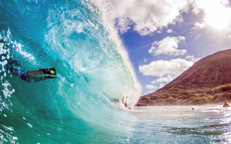 Photographs In The Waves