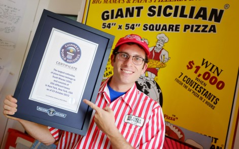 Weiner's achievement has been recognised by Guinness World Records who gave him a certificate.