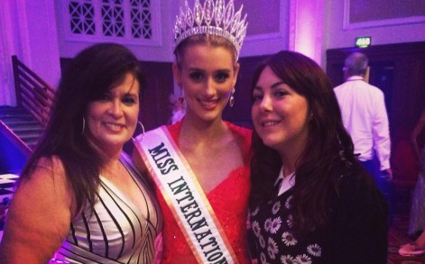 Victoria Tooby won the UK heat of Miss International during an event in July at the Palace Hotel in Manchester.