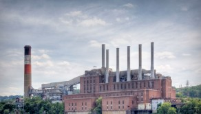 The Frank. R. Philips power station in South Heights Philidelphia looks like it is a ready to provide electricity for thousands of homes across the area.