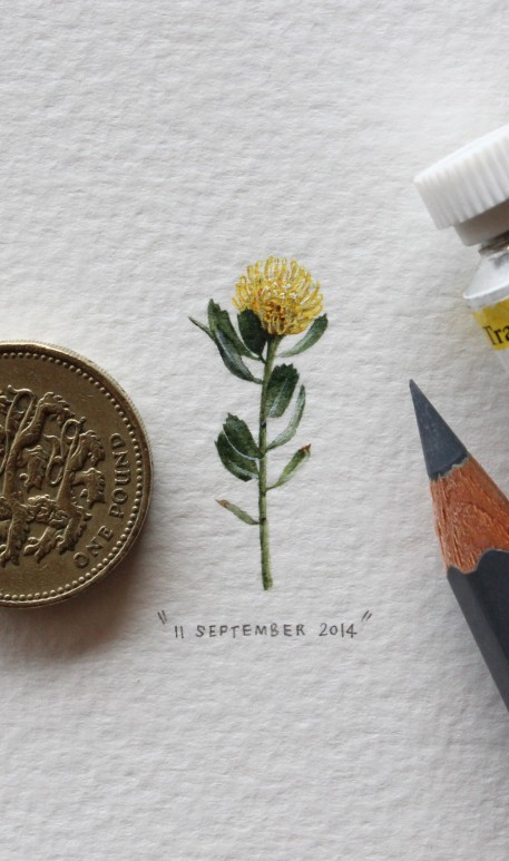 Lorraine Loots has created a new piece of tiny artwork every day for almost two years