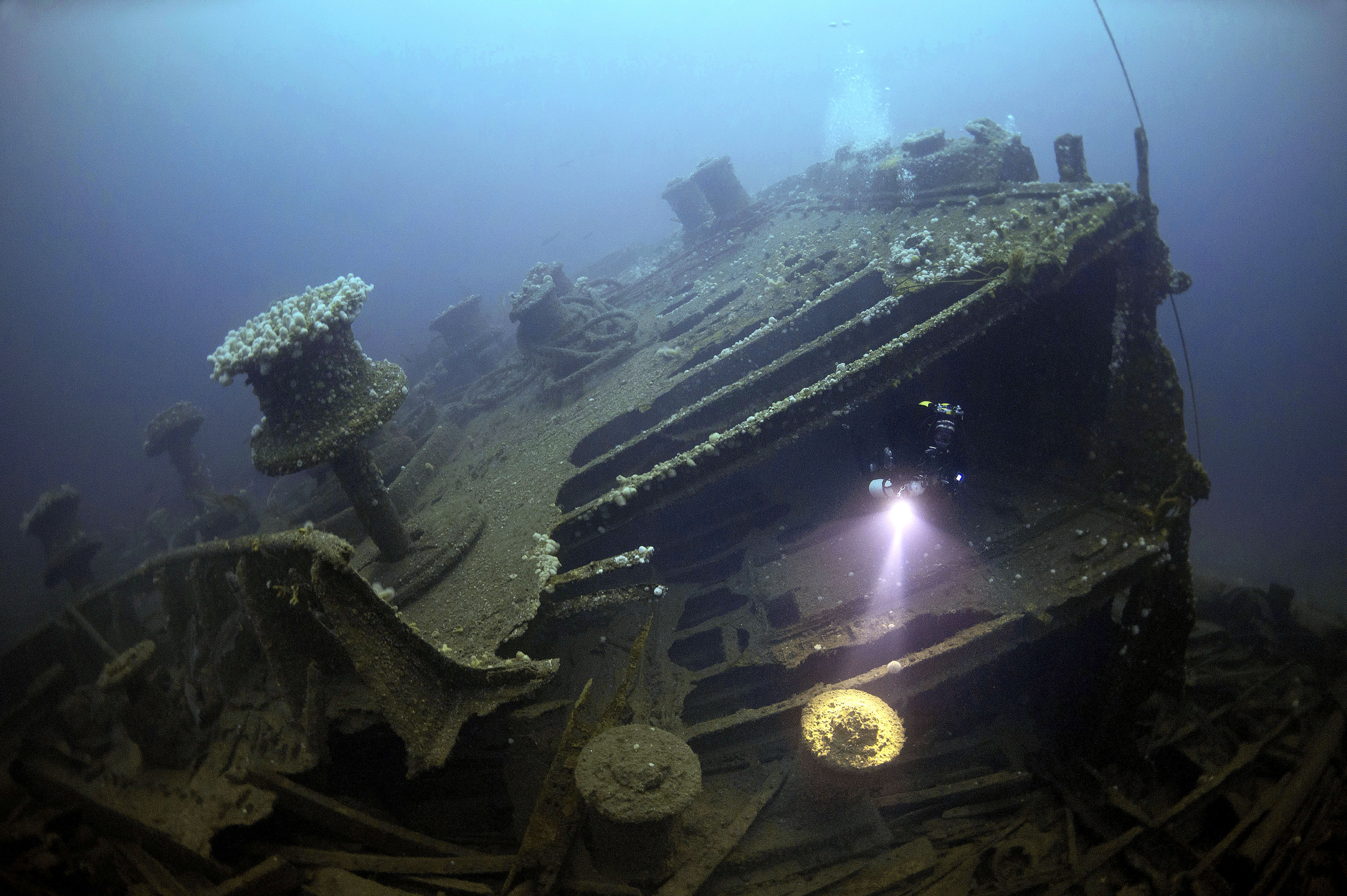 Stunning Pictures Show Lost Underwater Wrecks From The Two