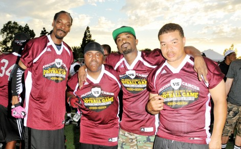 Snoop Dogg- Charity Football