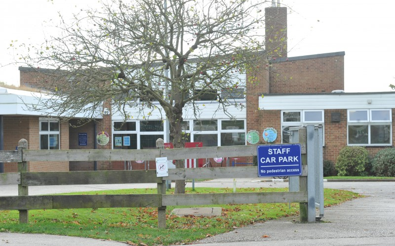 "The five-year-old boy, who told classmates he smugged a knife into school to ""stab bad teachers"", attended Partington Church of England Primary School in Hull, East Yorks"
