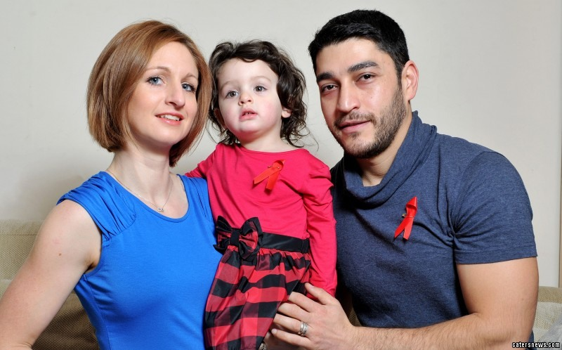 Her husband, Ali agreed to risk getting HIV to try for a second baby