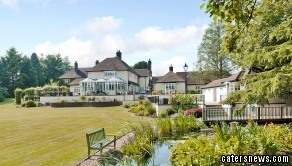 The garden of the property, valued at  £1.25m, is supposed to be the resting place of King Arthur