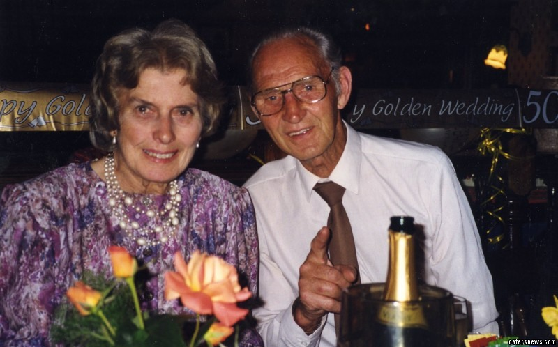 Harry Stevenson, 88, and wife Mavis', 89, died within just minutes of each other