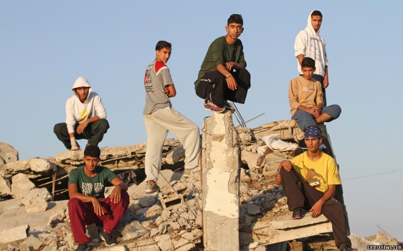Gaza Parkour Team (GPT) was founded in 2005 following Israel's unilateral withdrawal from Gaza