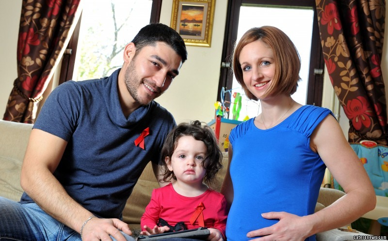Amanda Mammodova was diagnosed with HIV in 2010 but is now pregnant with her second baby