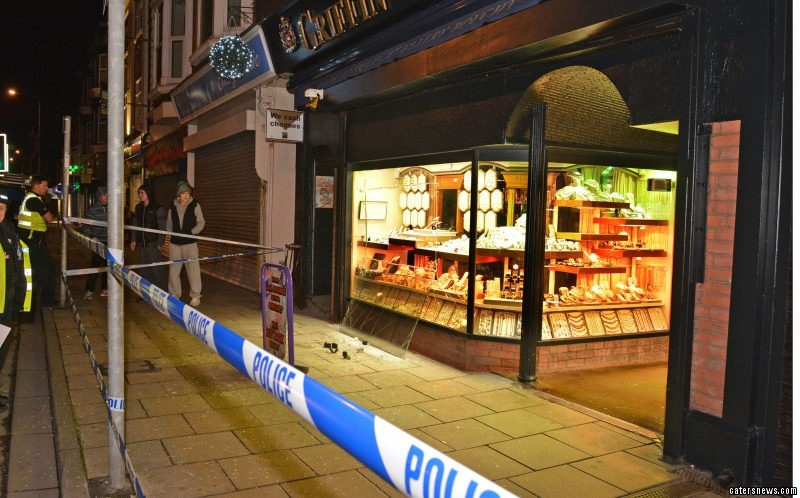 Rings and other jewellery were snatched from Griffin Jewellers'