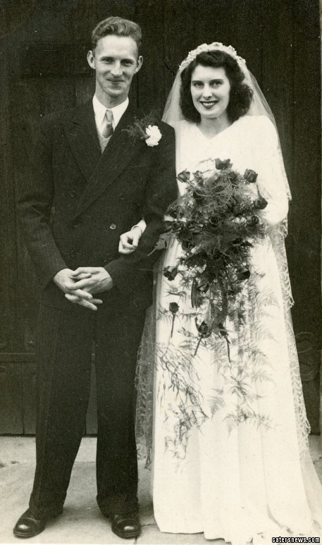 The devoted couple from Derby had been married for 65 years