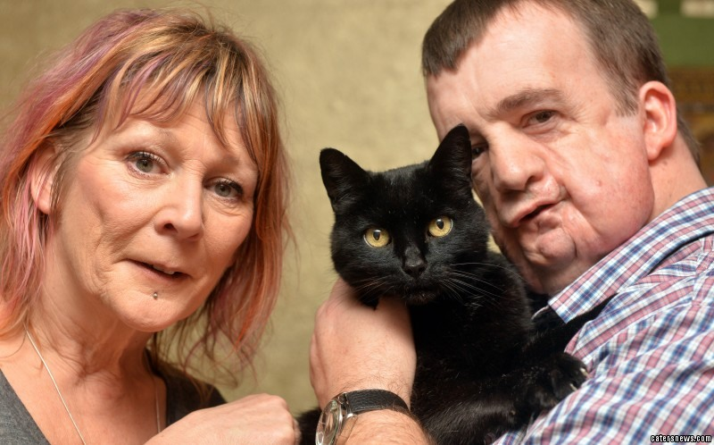 Pet lover David Allinson was totally unaware that Percy had been living just 15 miles down the road