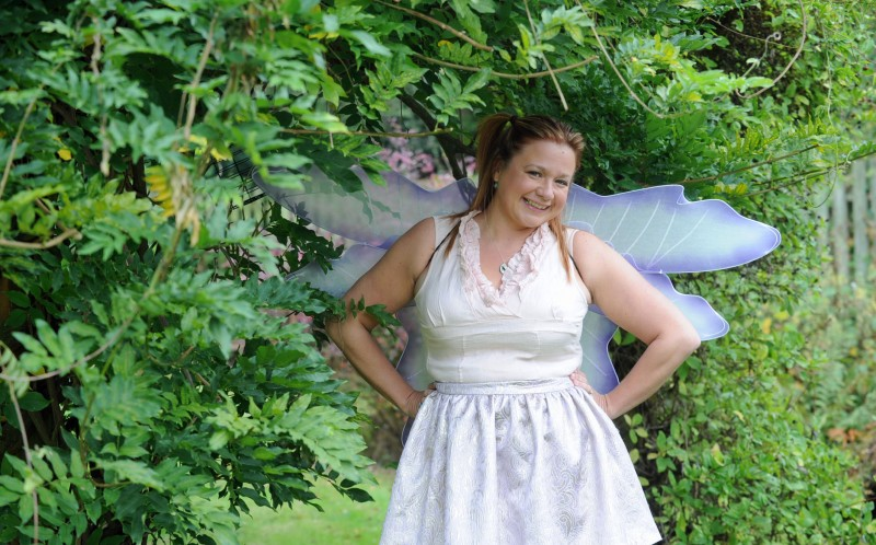 Kate Gilbert, 34, was shamed into losing eight stone after fearing she was too fat to play Tinkerbell