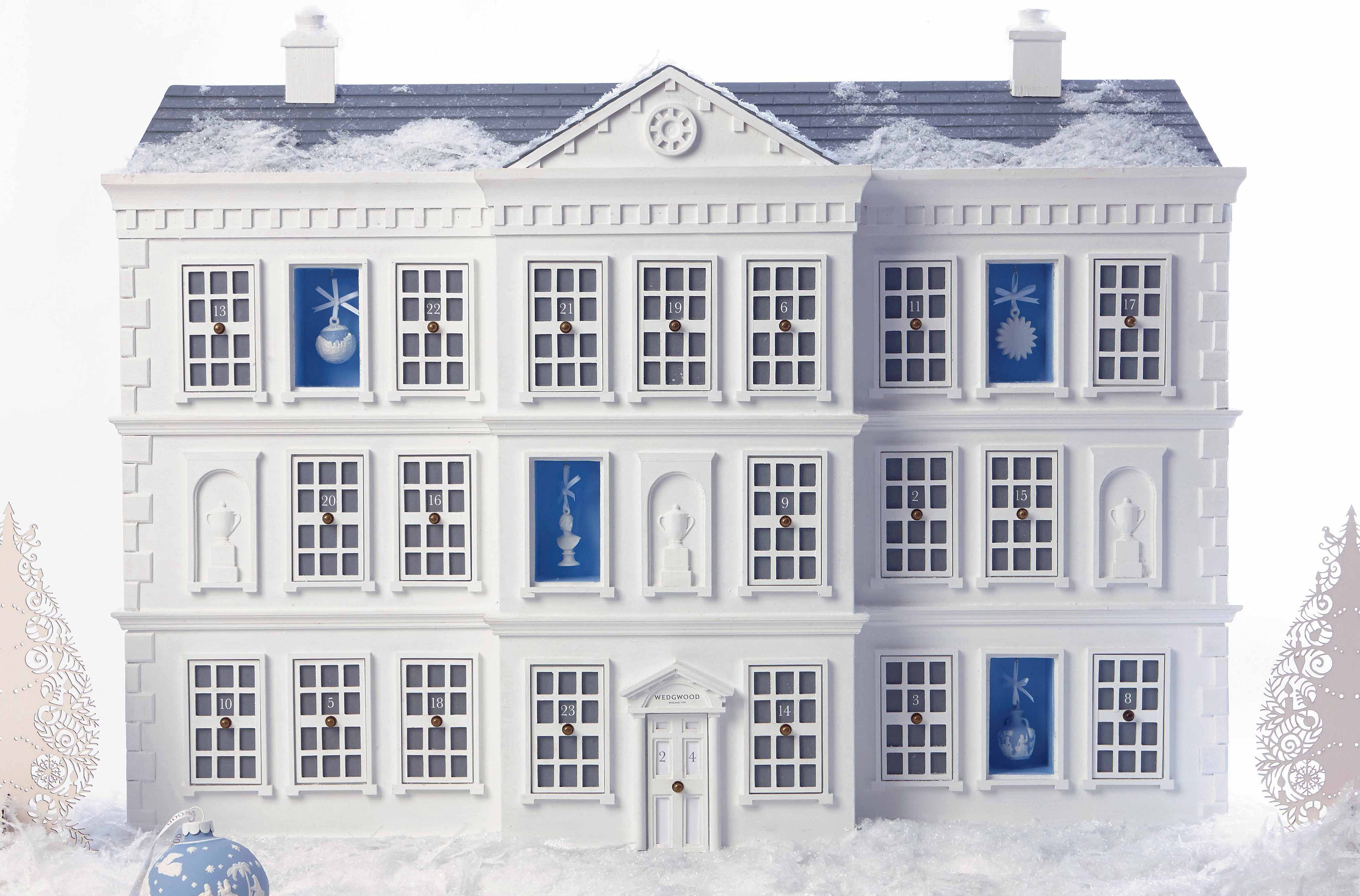 Christmas Advent House.Stunning Christmas Advent House For A Staggering 12 000