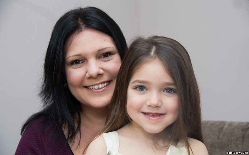 It took six months of tests before Niamh was diagnosed with CU