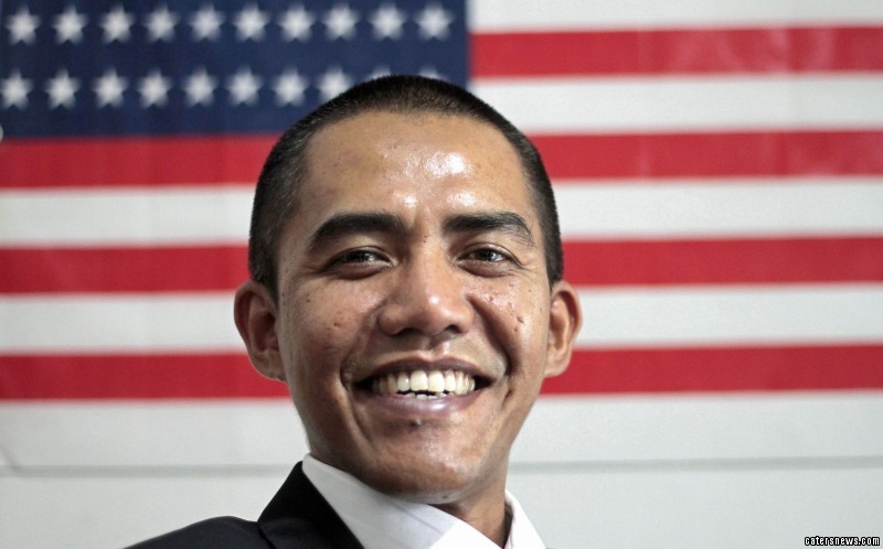 His work as Obama's doppelganger has seen him travel the world