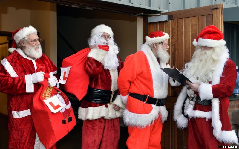 Chief Santa Claus Stuart set up the prestigious institute to maintain the time-honoured tradition of Christmas