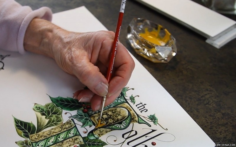 Gilded Age Greetings produce bespoke Christmas cards which can cost up to £6,400