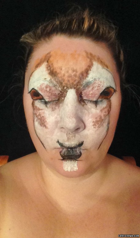 Inc-rein-dible Make-up Artist Transforms Her Own Face Into A Stunning Lifelike Reindeer ...