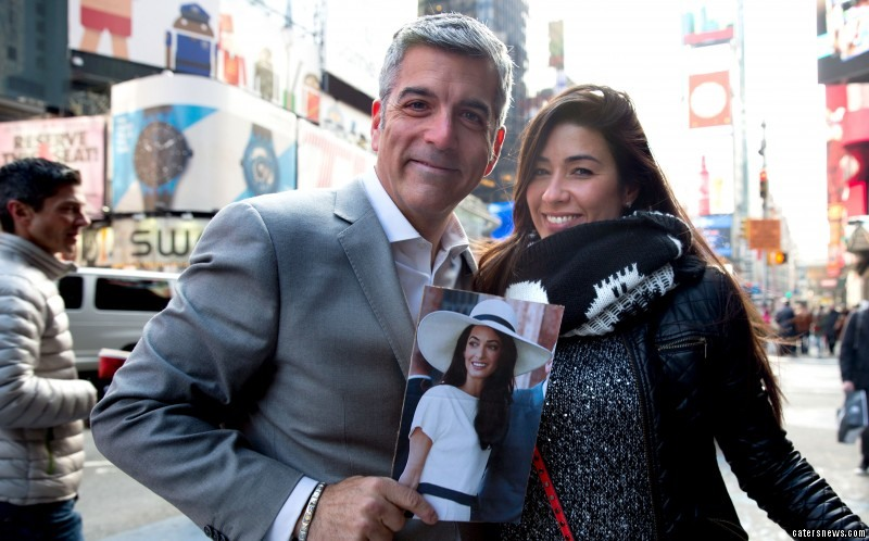 Despite finding a ringer for Amal on the streets of New York, his mission was unsuccessful