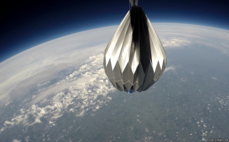 A company is offering a funeral service whereby you can send the ashes of loved ones into space
