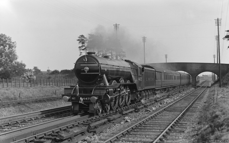 The Flying Scotsman celebrates the 80th anniversary of the first 100mph journey