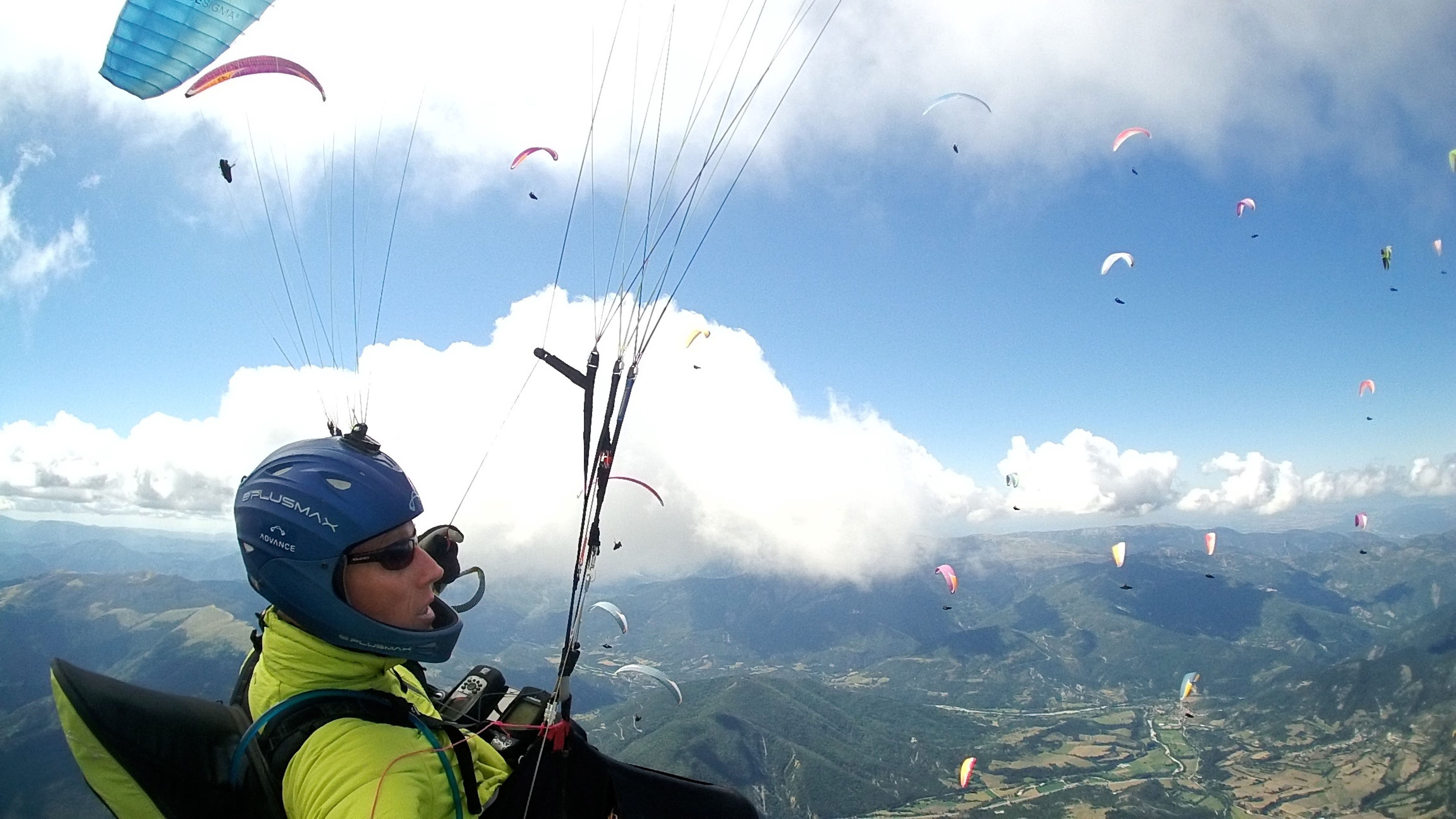 British Paraglider Swoops Through The Skies To Capture