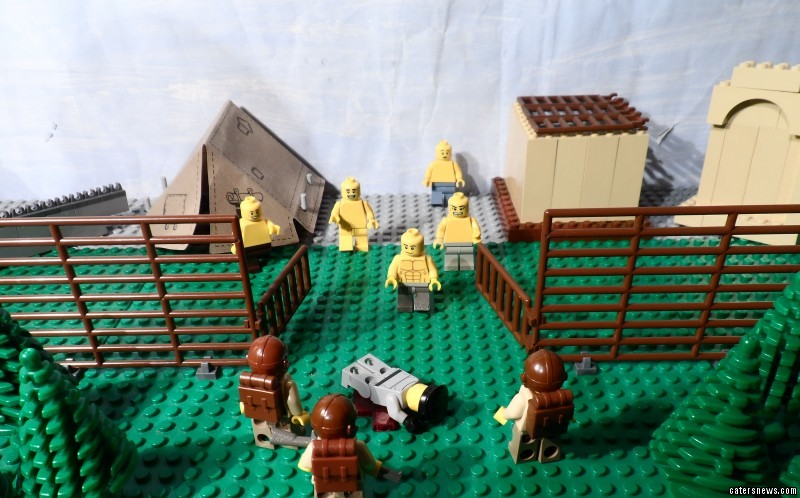 John, from Liverpool, decided to use Lego to show his history teacher his newly gained knowledge