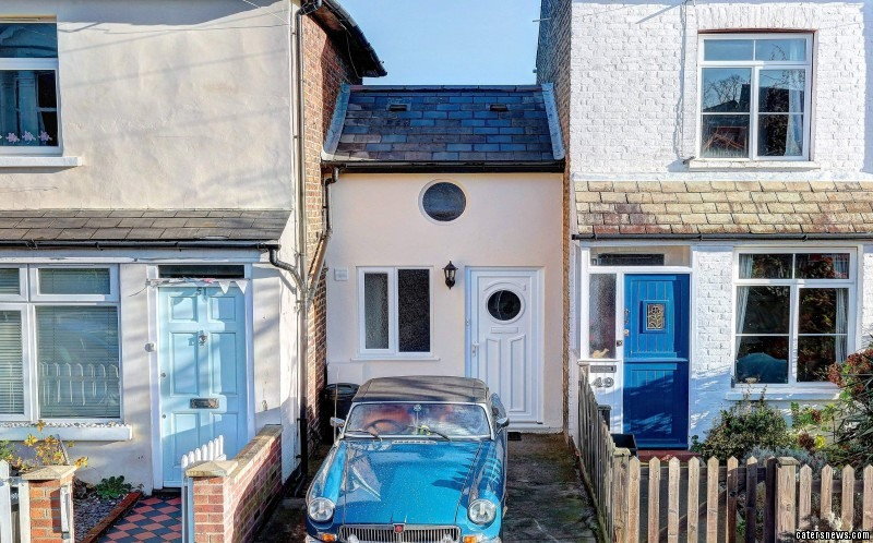 The tiny home has been put on the market for a whopping £300,000