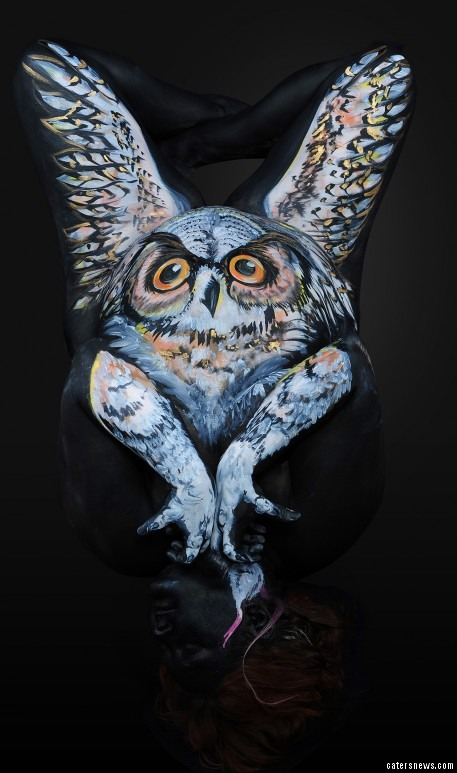 Check Out This Body Of Art Painter Transforms Humans Into Stunning Selection Of Animals Caters News Agency