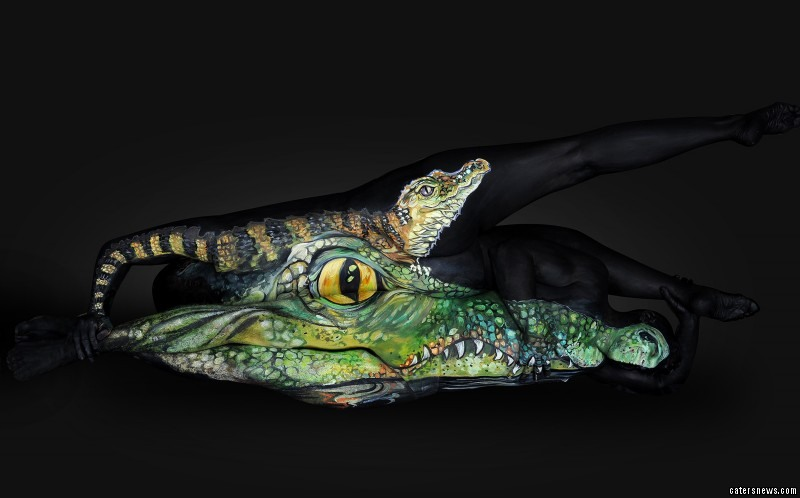 Incredible body art work