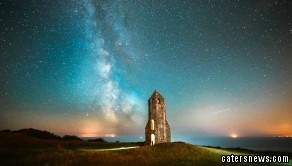 """Jamie, a former Royal Marines Commando from the Isle of Wight, said: """"The Isle of Wight it is very good for astro-photography due to the little light pollution on the south coast of the Island."""""""