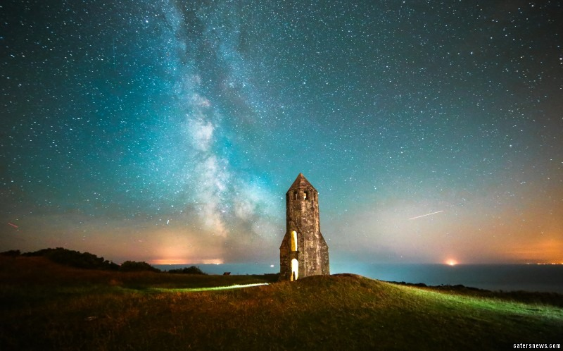 "Jamie, a former Royal Marines Commando from the Isle of Wight, said: ""The Isle of Wight it is very good for astro-photography due to the little light pollution on the south coast of the Island."""
